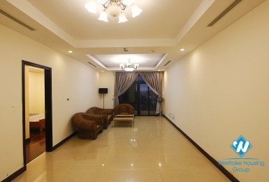 A spacious condo apartment with 2 bedrooms for rent in Royal City Compound, Hanoi