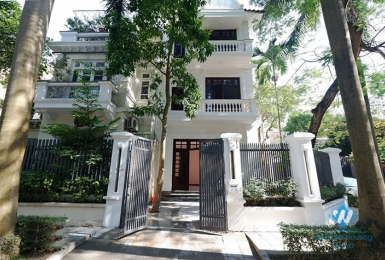 A decent villa for rent in Ciputra C Block