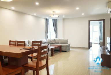 A furnished apartment for rent in Ciputra L Tower