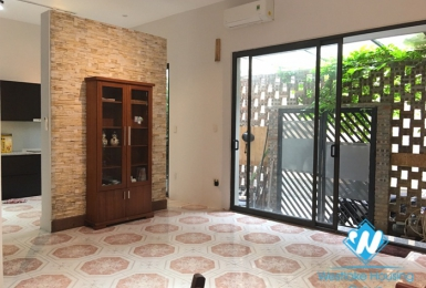 A lovely 3 bedroom house for rent on Trinh Cong Son street, Tay Ho District.