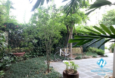 A charming villa for rent in Ciputra D Block, Hanoi City.