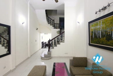 A 4 bedroom house for rent on Hoang Quoc Viet street