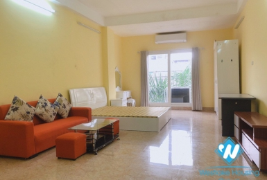Bright, spacious studio with budget price for rent on Nguyen Chi Thanh street