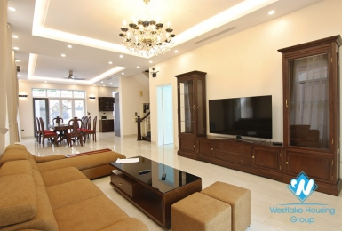 Spacious, cozy villa in Ciputra T Block for rent.