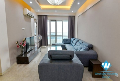 A spacious and stylish 3 bedroom apartment in Ciputra P Tower for rent