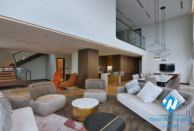 Executive luxury 4 bedrooms  PENTHOUSE in serviced apartment-hotel building, Tay Ho, Ha Noi