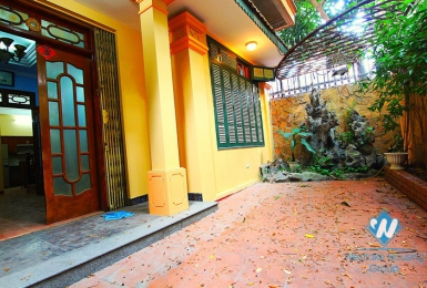 An affordable three-bedroom house on Thanh Cong street, Ba Dinh, Hanoi