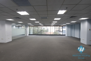 Spacious an office for lease in Doi Can st, Ba Dinh, Ha Noi