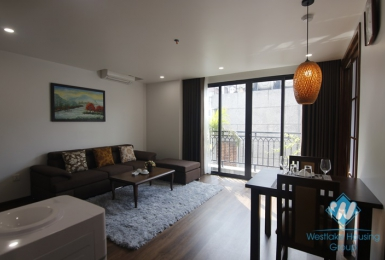 Morden 1+ bedroom apartment for lease in Kim Ma Thuong, Ba Dinh, Ha Noi