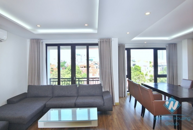 A well-decorated three bedroom apartment for rent in To Ngoc Van, Tay Ho