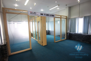 An office for rent in Doi Can street, Ba Dinh district, Ha Noi