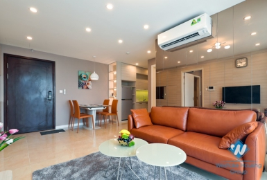Modern design with 2 bedrooms apartment in D'Capital Tran Duy Hung, Cau Giay District