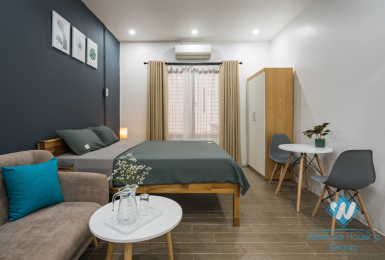 A cozy studio for lease in Tran Phu street, Ba Dinh
