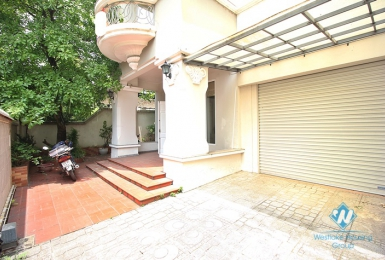 A wonderful villa with grassy terrace for rent in Ciputra