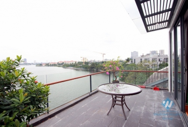 Top floor one bedroom apartment for rent in Tay Ho district, Ha Noi
