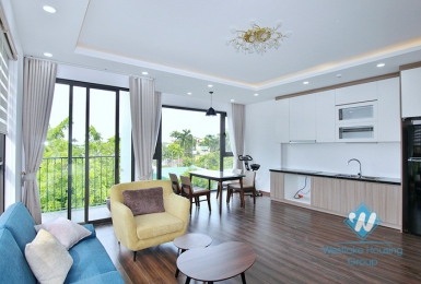 A brandnew and modern 2 bedroom apartment for rent in Tay ho, Ha noi