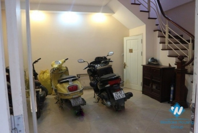 Three bedrooms house for rent in Kim Ma street, Ba Dinh