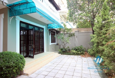 Well maintained, semi-detached house for rent in Ciputra, Tay Ho