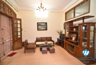 A nice furnitured house with 4 bedroom for rent on Kim Mã