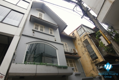 A Bright Spacious 4th floor house for rent in Ba Dinh