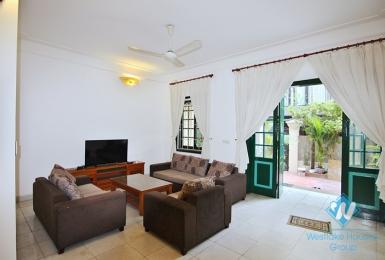 A renovated five bedrooms house for rent in To Ngoc Van, Tay Ho