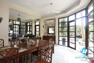 Large house worth renting near French international school, Ngoc Thuy Long Bien
