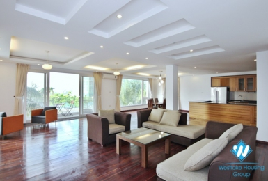 A spacious 3 bedroom apartment with lake view in Tay ho, Ha noi