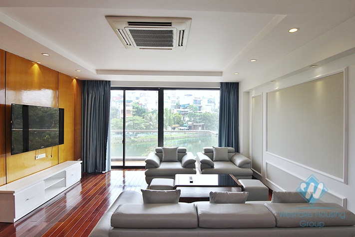 Good-quality nice spacious apartment for rent in Yen Phu village