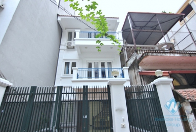 Brand new house for rent with fully furnished and equipped in Tay Ho area , Hanoi