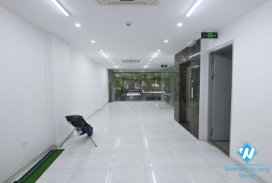 Brand new office for rent in Kim Ma Thuong street, Ba Dinh, Ha Noi