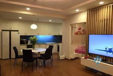 Three bedrooms apartment for rent in Time City, Hanoi.