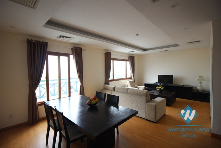 Serviced apartment for rent in Hoan Kiem district, Hanoi, Vietnam