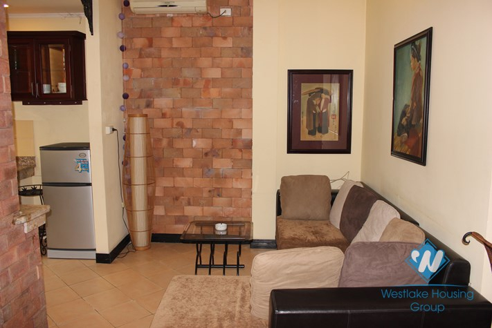 Rental apartment with 2 bedroom for lease in Ba Dinh district, Hanoi