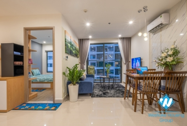 One bedroom apartment for rent at S2 02 Vinhome Ocean Park Gia Lam