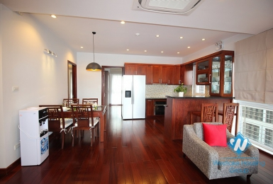 Beautiful furnished apartment for rent in Tay Ho, Hanoi
