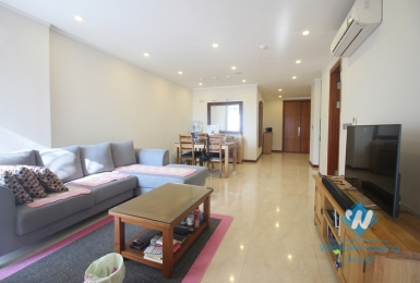 Furnished apartment for rent in Ciputra, Tay Ho