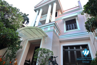 A huge villa with large terrace for rent in Ciputra D Block