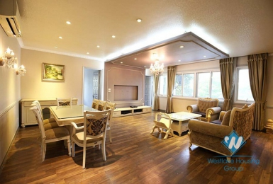 Spacious apartment with 03 bedrooms for rent in Ciputra Tay Ho, Hanoi.