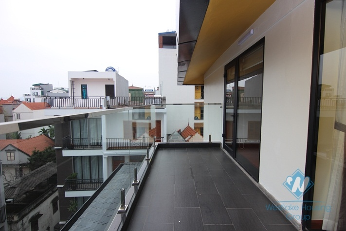 Duplex three bedrooms apartment for rent in Tay Ho, Ha Noi