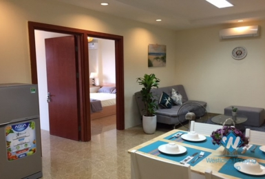 Brand new 2 bedroom apartment for rent in Ba Dinh