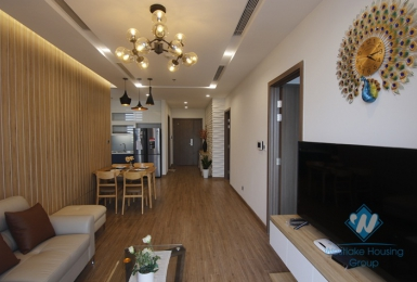 Modern two bedrooms apartment for rent in Vinhomes Metropolis, Ba Dinh district, Ha Noi
