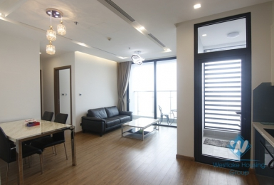 High floor furnished two bedrooms for rent in Vinhome Metropolis, Ba Dinh district, Ha Noi