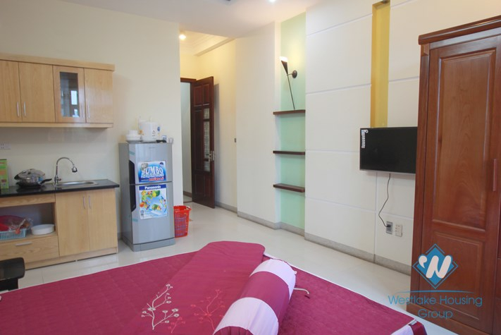 Nice studio apartment for rent in Ba Dinh area, Ha Noi