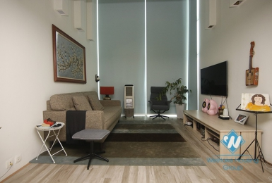 Beautiful duplex apartment for rent near Aeonmall Long Bien, Ha Noi