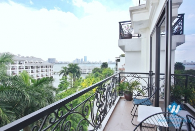 Beautiful 2 bedroom with balcony for rent in Tu hoa st, Tay Ho District