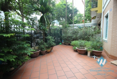 Beautiful house suitable for office and stay for rent in Thanh Xuan district, Ha Noi