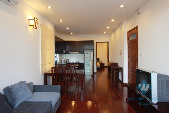 01 bedroom serviced apartment for rent in Dang Thai Mai, Tay ho, Hanoi
