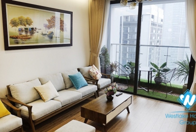 A nicely one bedroom apartment for lease in Vinhome Metropolis, Lieu Giai, Ba Dinh