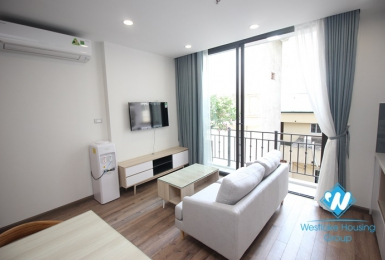 Bright one bedroom apartment for rent in Lieu Giai, Ba Dinh