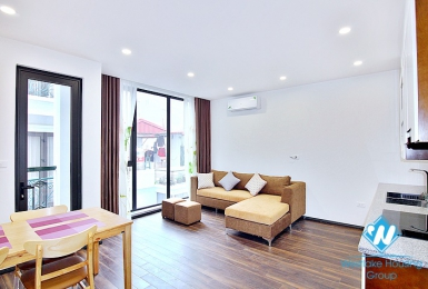 Modern two bedroom apartment for rent on Tu Hoa street